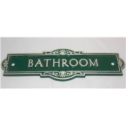 Antique Style Door Sign - personalised