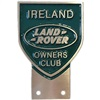 Cast Aluminium 'Ireland' Shield Badge