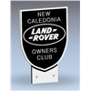 Cast Aluminium 'New Caledonia' shield badge