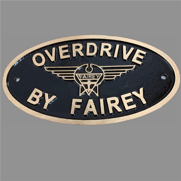 Cast bronze Overdrive by Fairey