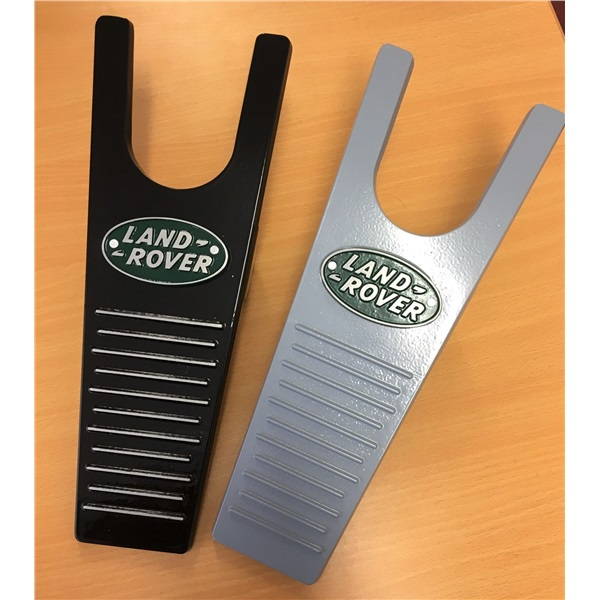 Cast aluminium Land Rover boot pull