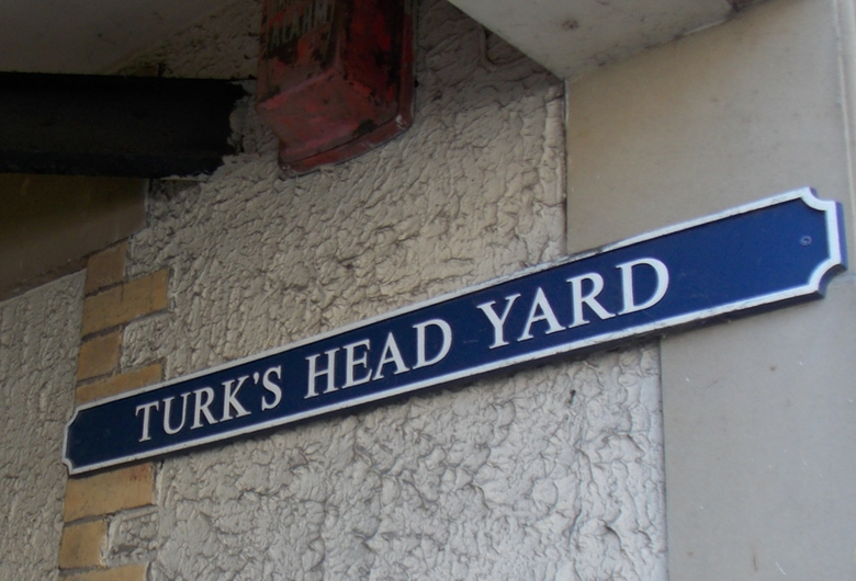 Turks Head Yard Sign